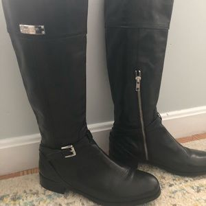 Coach knee high riding boots. Leather 7.5B